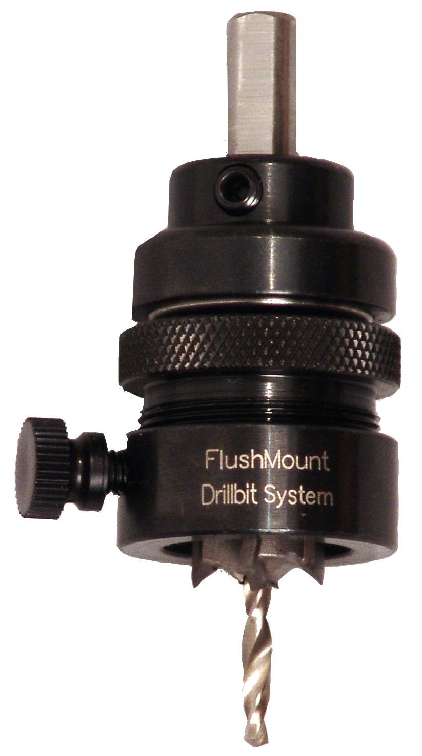 Hafele 001.24.210 Flushmount Drill Bit System