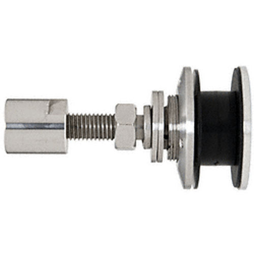 CRL HSFEX14BS Heavy-Duty Exterior Swivel Fastener, Brushed Stainless