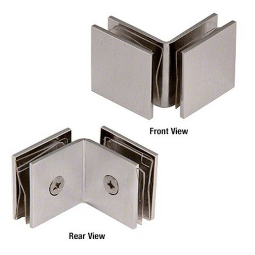 CRL SGC0F90BN Open Face 90 Degree Square Glass Clamps