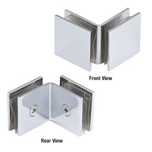 CRL SGC0F90CH Open Face 90 Degree Square Glass Clamps