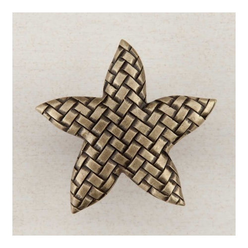 Acorn DP9AP Artisan Collection Knob Woven Star 1-3/4