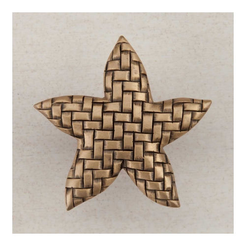 Acorn DP9GP Artisan Collection Knob Woven Star 1-3/4