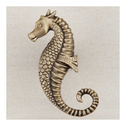 Acorn DPEAP Artisan Collection Knob Seahorse 2-1/4