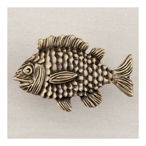 Acorn DPLAP Artisan Collection Knob Fun Fish 1-5/8