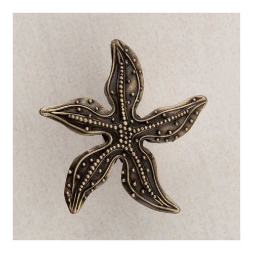 Acorn DPNAP Artisan Collection Knob Beaded Starfish 1-7/8