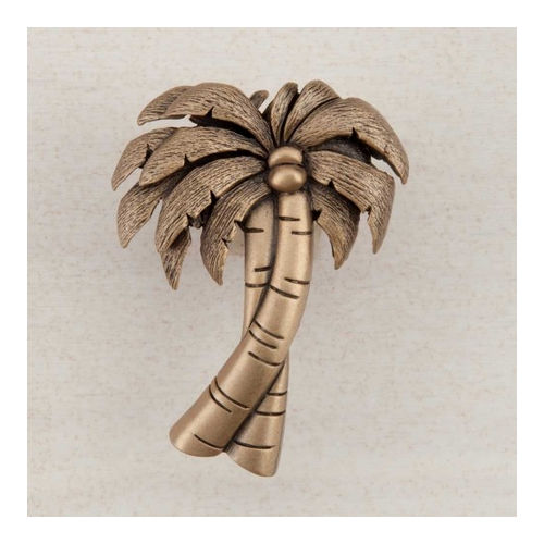 Acorn DQ1GP Artisan Collection Knob Palm Tree 1-7/8