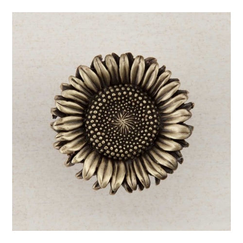 Acorn DQ8AP Artisan Collection Knob Sunflower 1-3/8
