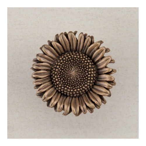 Acorn DQ8GP Artisan Collection Knob Sunflower 1-3/8