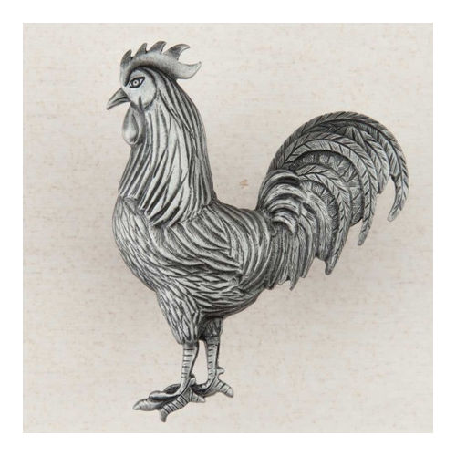 Acorn DQ9PP Artisan Collection Knob Rooster 2-1/8