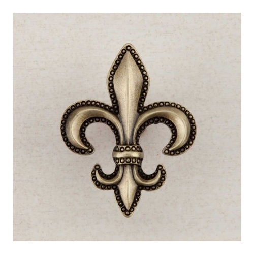 Acorn DQDAP Artisan Collection Knob Fleur-De-Lis 1-5/8