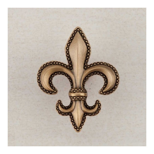 Acorn DQDGP Artisan Collection Knob Fleur-De-Lis 1-5/8