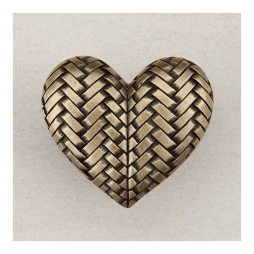 Acorn DQJAP Artisan Collection Knob Woven Heart 1-1/2