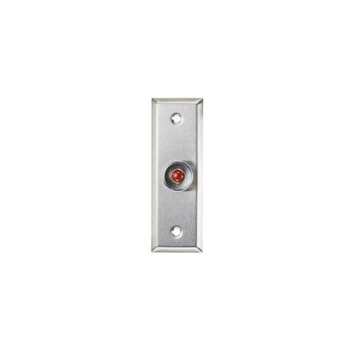 Alarm Controls RP-26SLIM Rp-26 Remote Plate Stainless Steel Slimline Plate