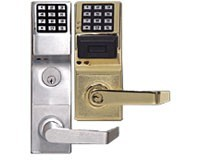 Alarm Lock PDL6100 Networx Digital/Proximity Lock, Satin Chrome