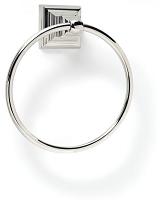 Amerock BH26511PN Towel Ring, Polished Nickel
