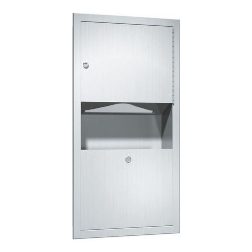 ASI 0462-AD Paper Towel Dispenser & Waste Receptacle