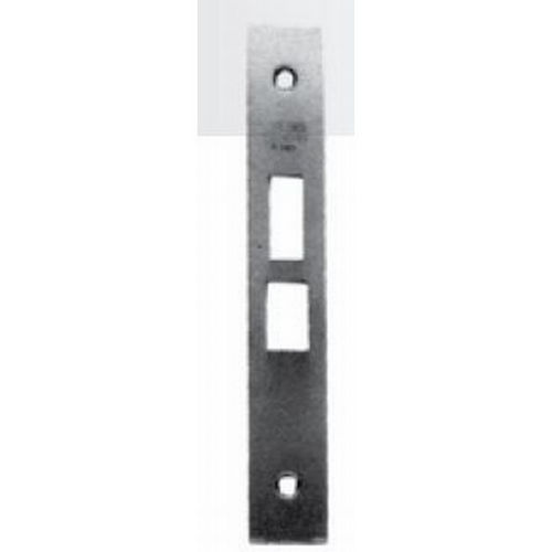 Baldwin 61100560004 Latch Armor Front, Lifetime Satin Nickel