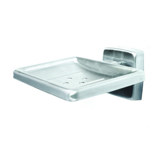Bradley 9014-000000 Soap Dish, Satin Stainless, Surface