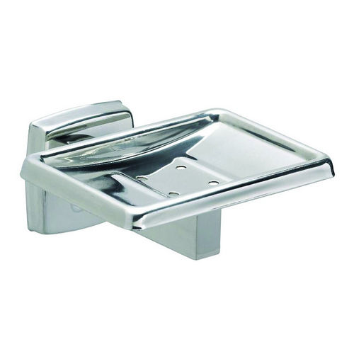 Bradley 9015-630000 Soap Dish, Polished Stainless, Surface Mount
