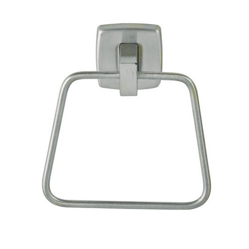 Bradley 9334-000000 Towel Ring, Satin Stainless, Surface Mount