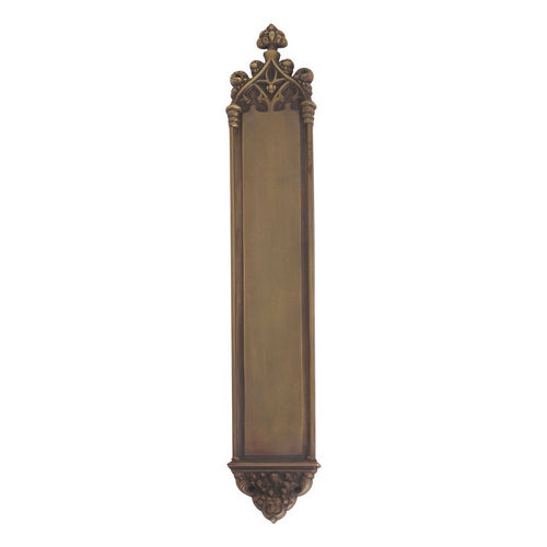 Brass Accents A04-P5640-486 Gothic 3-3/8