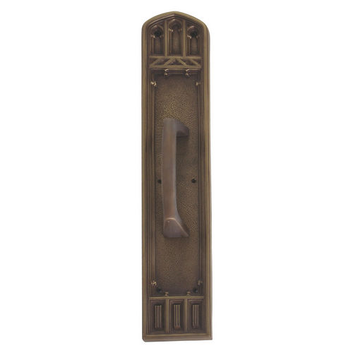 Brass Accents A04-P5841-MSS-486 Oxford 3-3/8