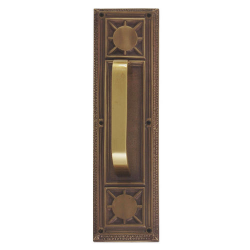 Brass Accents A04-P7201-TRD-486 Nantucket 3-3/4