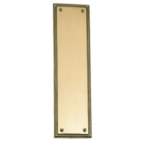 Brass Accents A06-P0240 Rope Push Plate 3