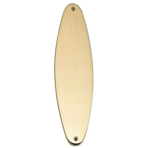 Brass Accents A07-P8390 Oval Traditional Push Plate 3