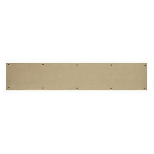 Brass Accents A09-P0840-609 Kick Plate 8