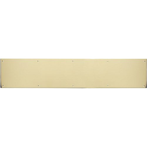 Brass Accents A09-P0840-628 Kick Plate 8