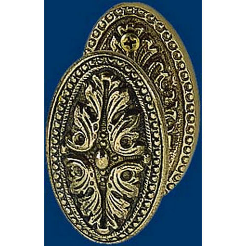 Brass Accents D04-K028A Avalon Collection Passage Set 2-3/8