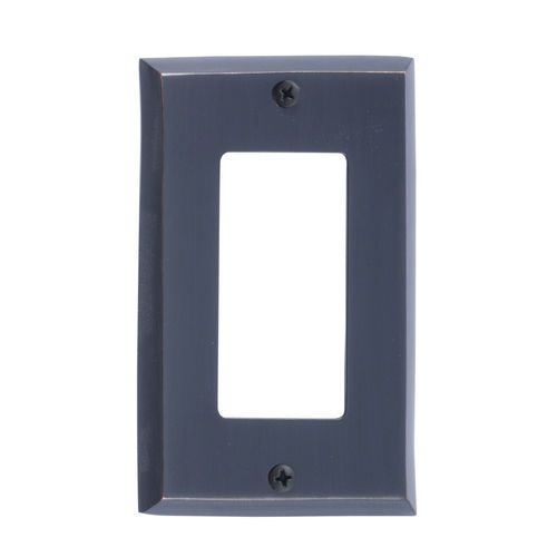 Brass Accents M07-S4520 Quaker Single GFCI, Venetian Bronze