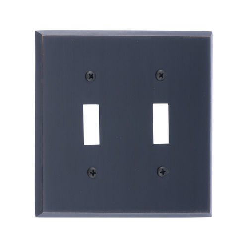 Brass Accents M07-S4530 Quaker Double Switch, Venetian Bronze
