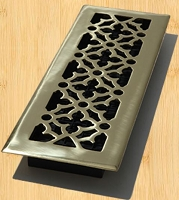 Decor Grates AG414 Gothic Design In Solid Brass Floor Registers 4
