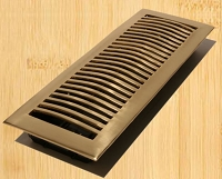 Decor Grates HSL414 Contemporary Design In Solid Brass Floor Registers 4