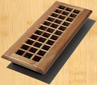 Decor Grates WE414-N Lattice Design In Solid Brass Floor Registers 4
