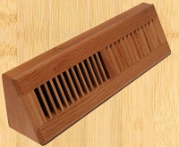 Decor Grates WL18BB Baseboard Design In Solid Brass Floor Registers 18