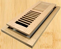 Decor Grates WLF412-U Flushmount Design In Solid Brass Floor Registers 4