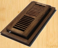 Decor Grates WLF412-N Flushmount Design In Solid Brass Floor Registers 4