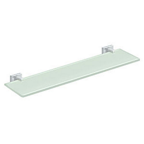 Deltana 55D2015-26 Glass Shelf 55D Series, Polished Chrome