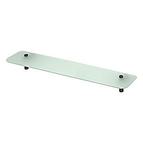 Deltana BBS2750-10B Shampoo Shelf with Glass 27-1/2