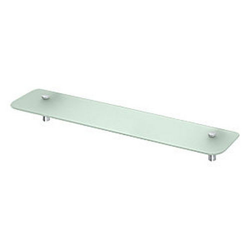 Deltana BBS2750-26 Shampoo Shelf with Glass 27-1/2