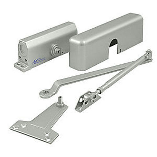 Deltana DC70-AL Door Closer #3 Back Check Aluminum