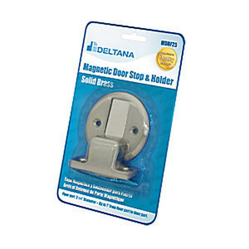 Deltana MDHF25BP15 Magnetic Door Holder Flush 2-1/2
