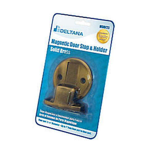 Deltana MDHF25BP5 Magnetic Door Holder Flush 2-1/2