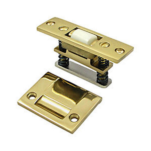 Deltana RCA430U3 HD Roller Catch, Polished Brass (Each)