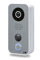 DoorBird D101 Video Doorbell, Polycarbonate Housing, White