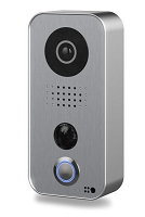 DoorBird D101S Video Door Station, Polycarbonate Housing, Strato-Silver