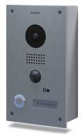 DoorBird D201 Video Doorbell, Full Stainless Steel, Surface
